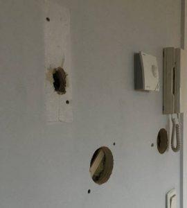 Inkomhal gang appartement woning laten schilderen prijzen Genk Limburg voor